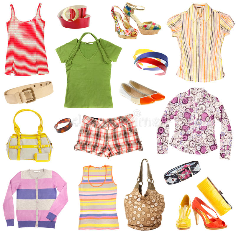 Download Lady's clothing stock image. Image of well, belt, isolated - 13709545
