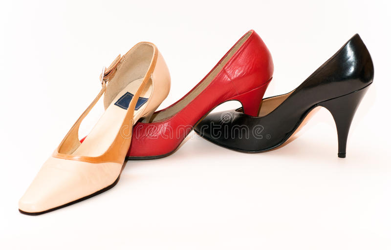 Download Lady shoes stock image. Image of chain, foot, deciding - 17850469