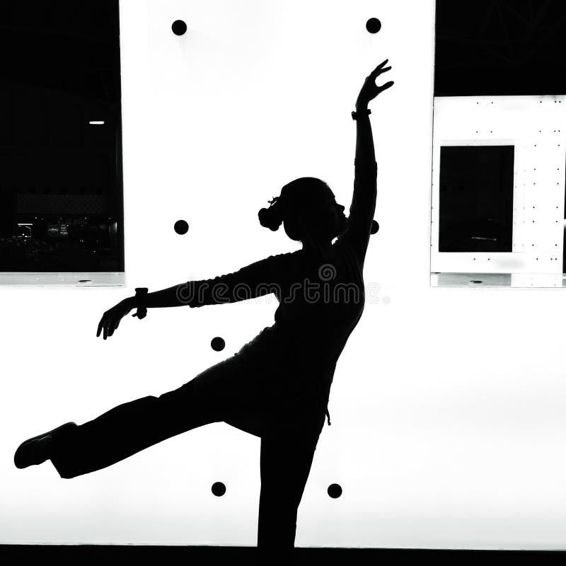Dancing shadow stock photos