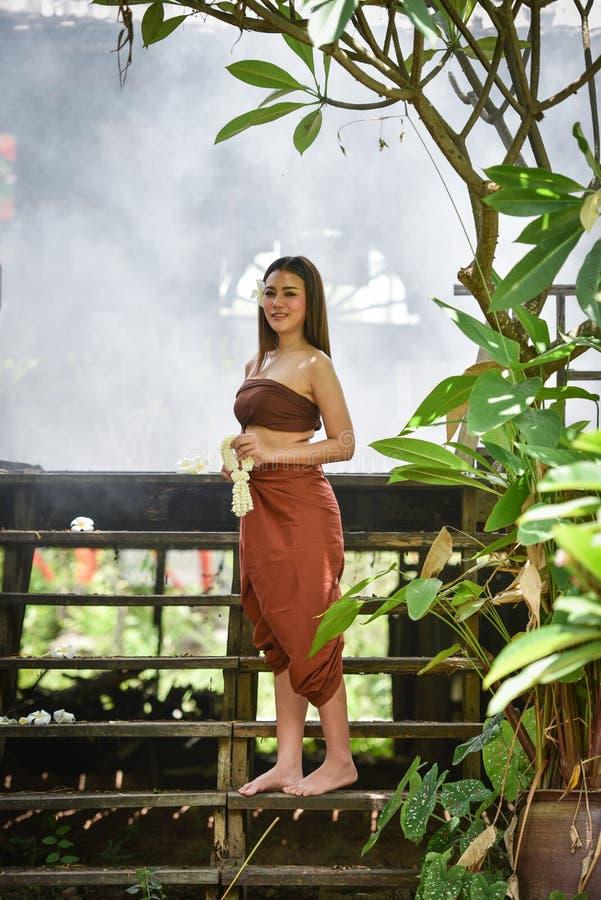Lady style thai asia royalty free stock image