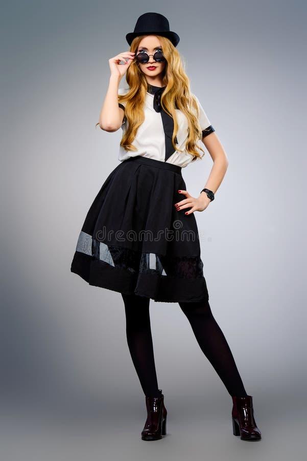 lady stylish στοκ εικόνες με δικαίωμα ελεύθερης χρήσης