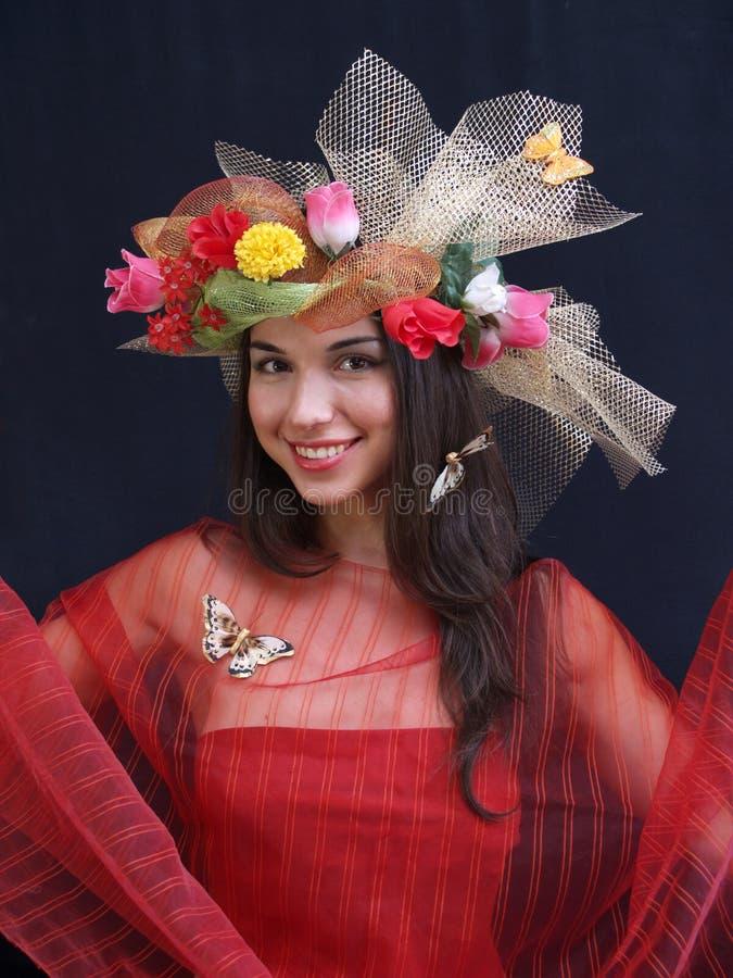 Lady Summer Royalty Free Stock Photos