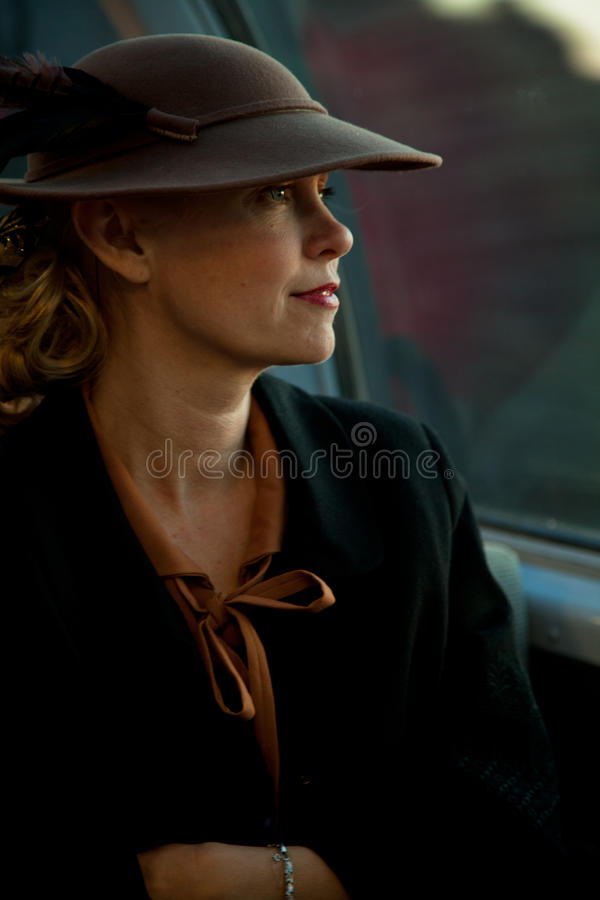 Download Lady at the Troop Train editorial image. Image of united - 26130920