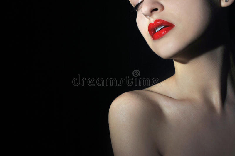 Lady Vamp Stock Photos