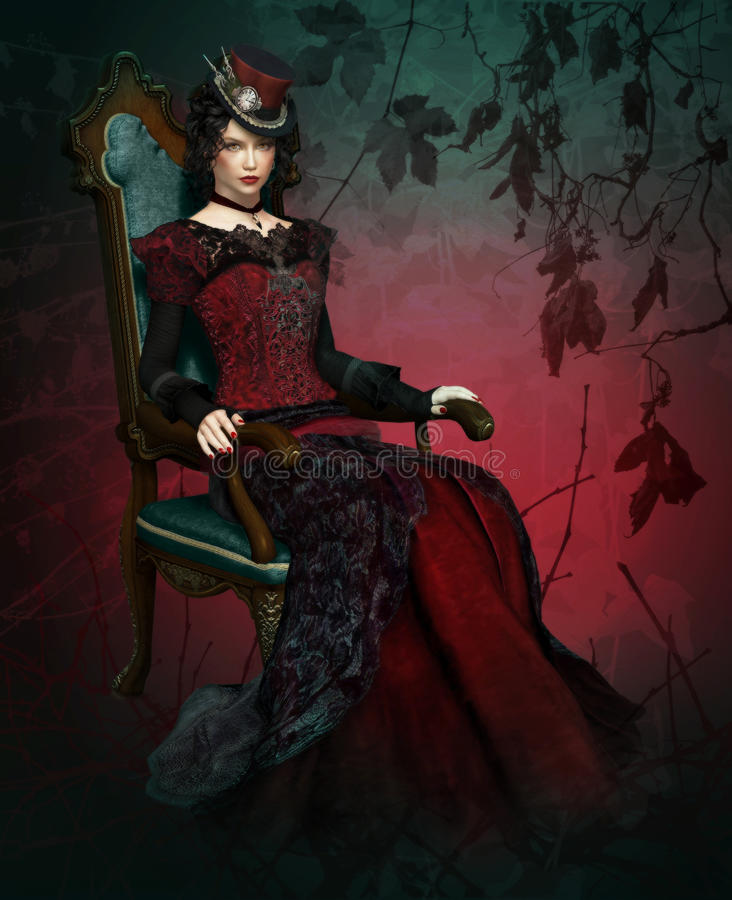 Free Lady Vlada Portrait Stock Image - 20896951