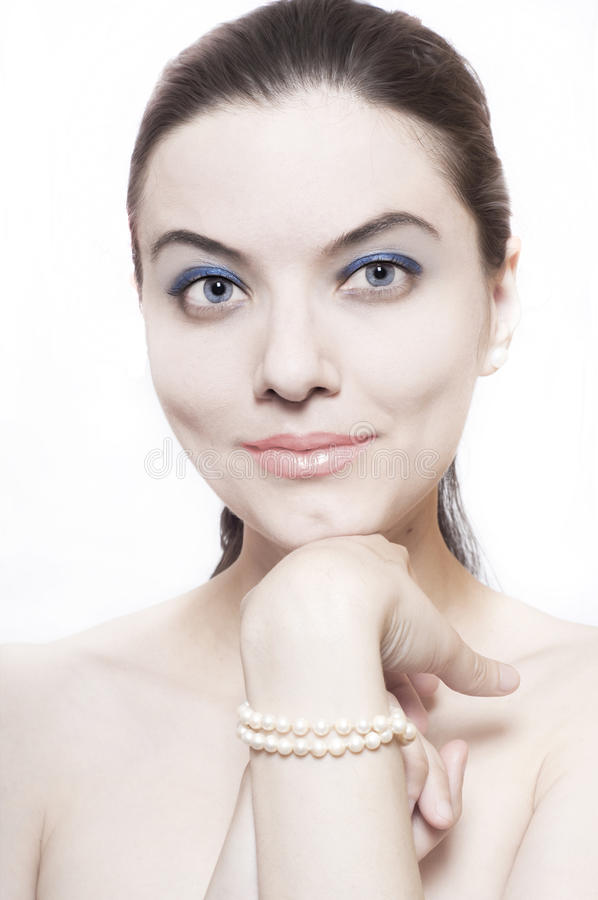 Free Lady With Pearls Stock Image - 18848971