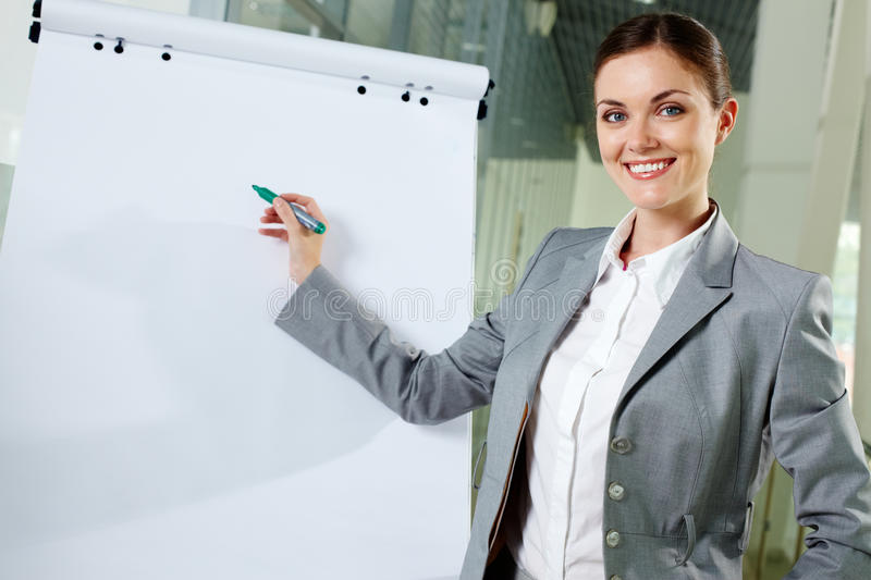 Download Lady at work stock image. Image of career, collar, indoors - 26278913
