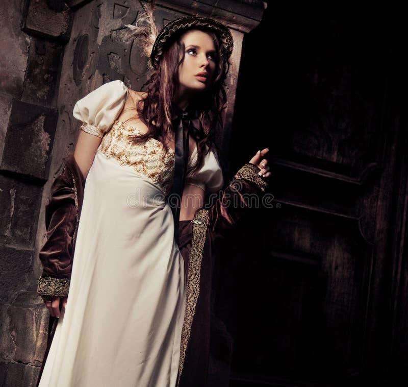 ladybarn royaltyfri foto