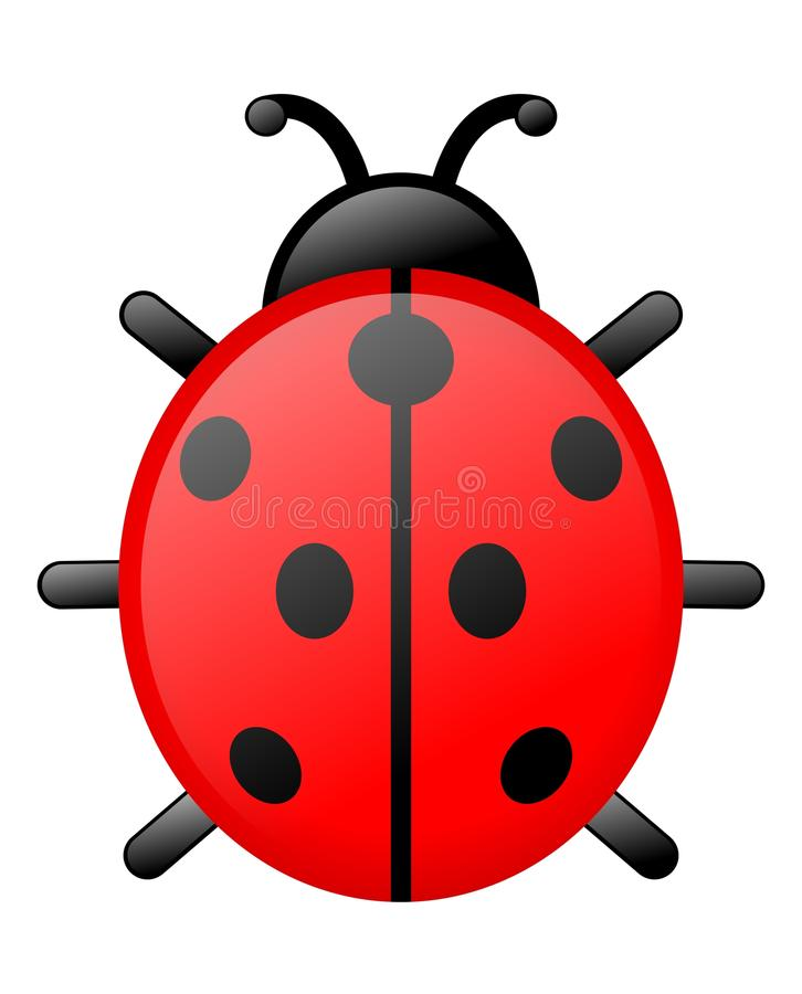 Download Ladybird stock vector. Image of pictogram, animal, ladybird - 11229995