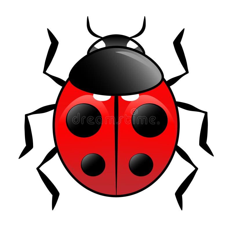Ladybird иллюстрация штока