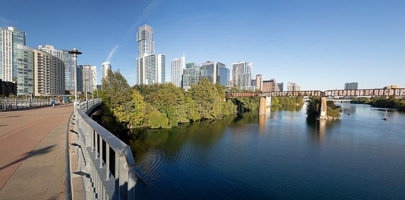 Ladybird Lake, Austin, Teksas zdjęcia stock