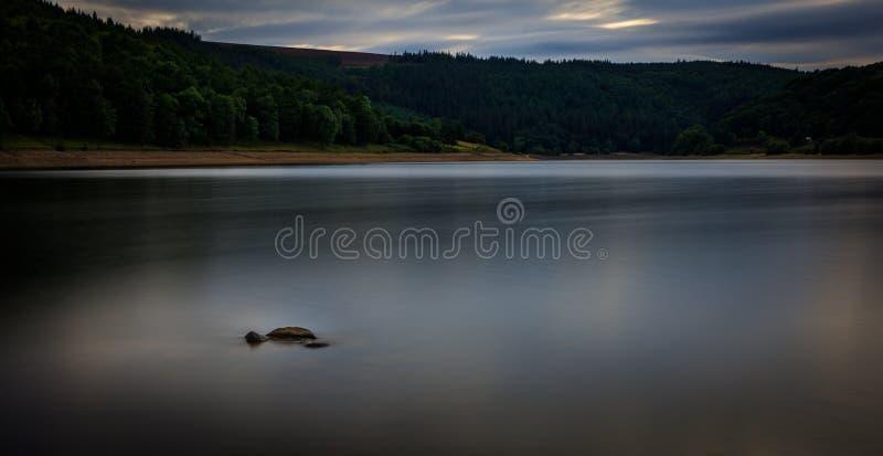 Ladybower Lake in the Peak District royalty free stock photo