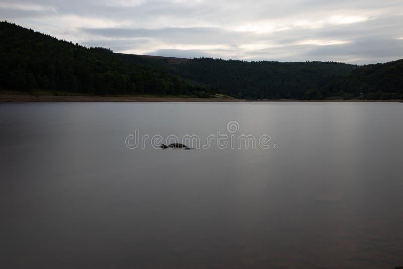 Ladybower lake royalty free stock photo