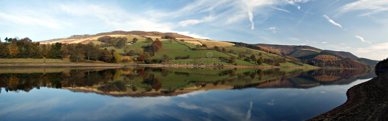 Ladybower reservoir. England