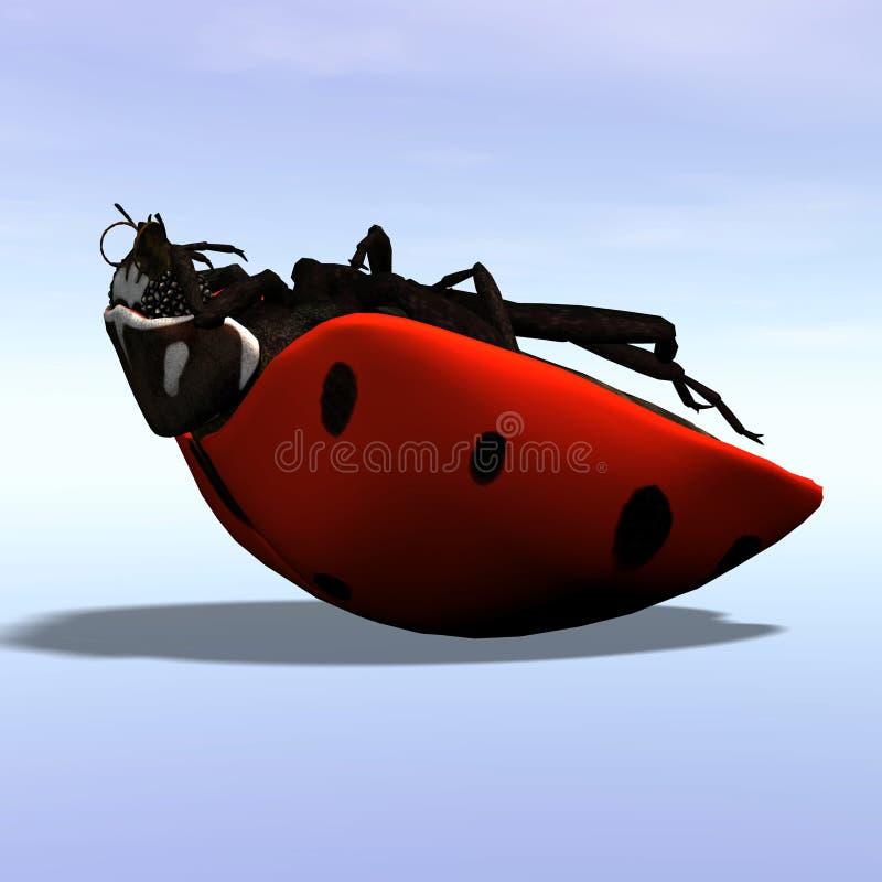 Ladybug #1 vector illustration
