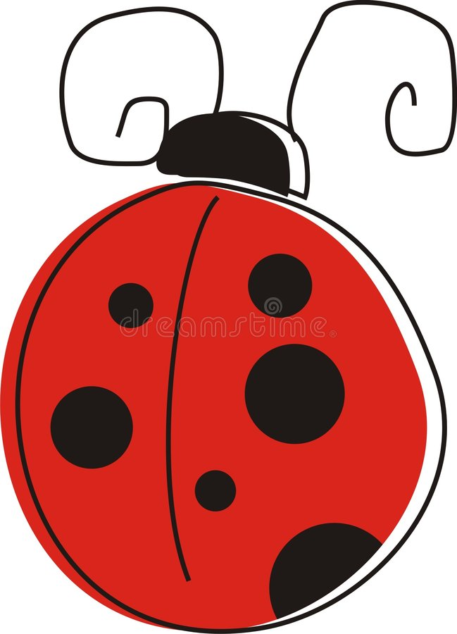 Ladybug royalty free illustration