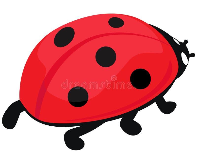 Ladybug royalty illustrazione gratis