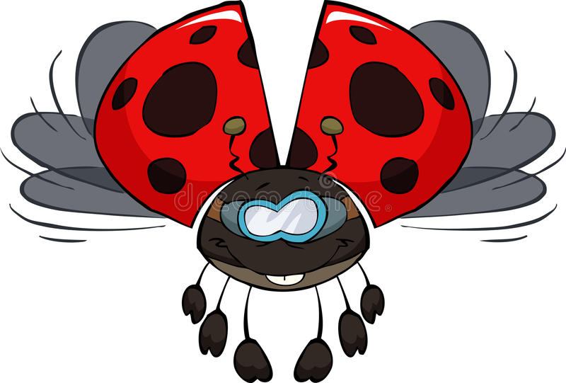 Download Ladybug stock vector. Illustration of cartoon, illustration - 27048505