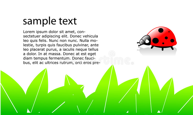 ladybug ελεύθερη απεικόνιση δικαιώματος