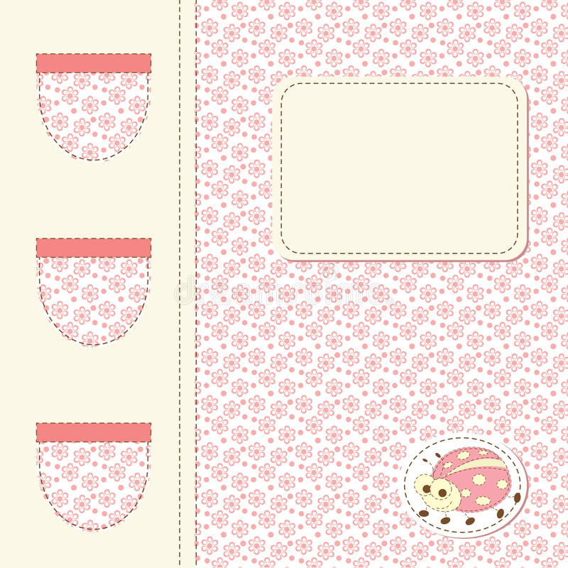 Free Ladybug Baby Shower Royalty Free Stock Image - 26053926
