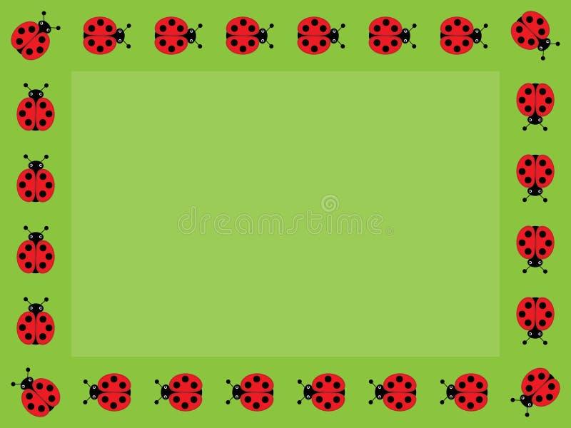 ladybug frame royalty free stock photo image 6179785