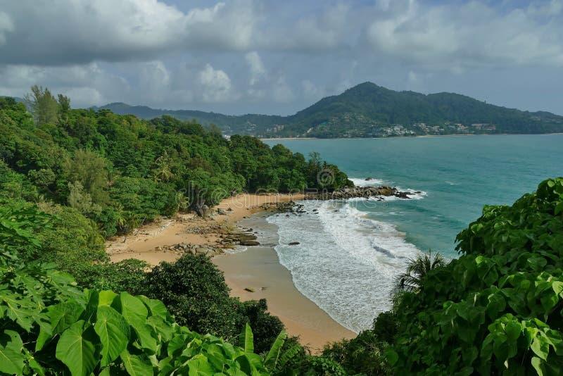 Laem canta la spiaggia Phuket fotografia stock