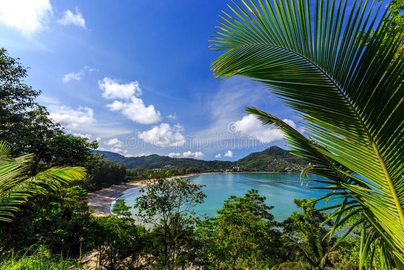 Laem canta la spiaggia, Phuket, Tailandia immagine stock libera da diritti
