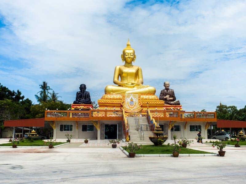 Laemen Phak Bia Environmental Study och utvecklingsprojekt Juli 2018: Phetchaburi Thailand royaltyfria foton