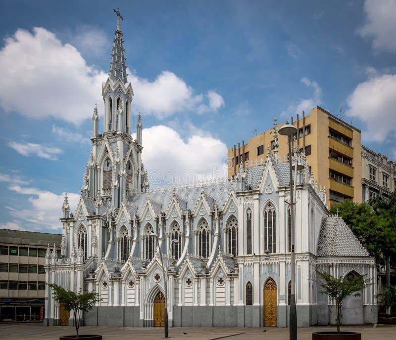 LaErmita kyrka - Cali, Colombia royaltyfri bild