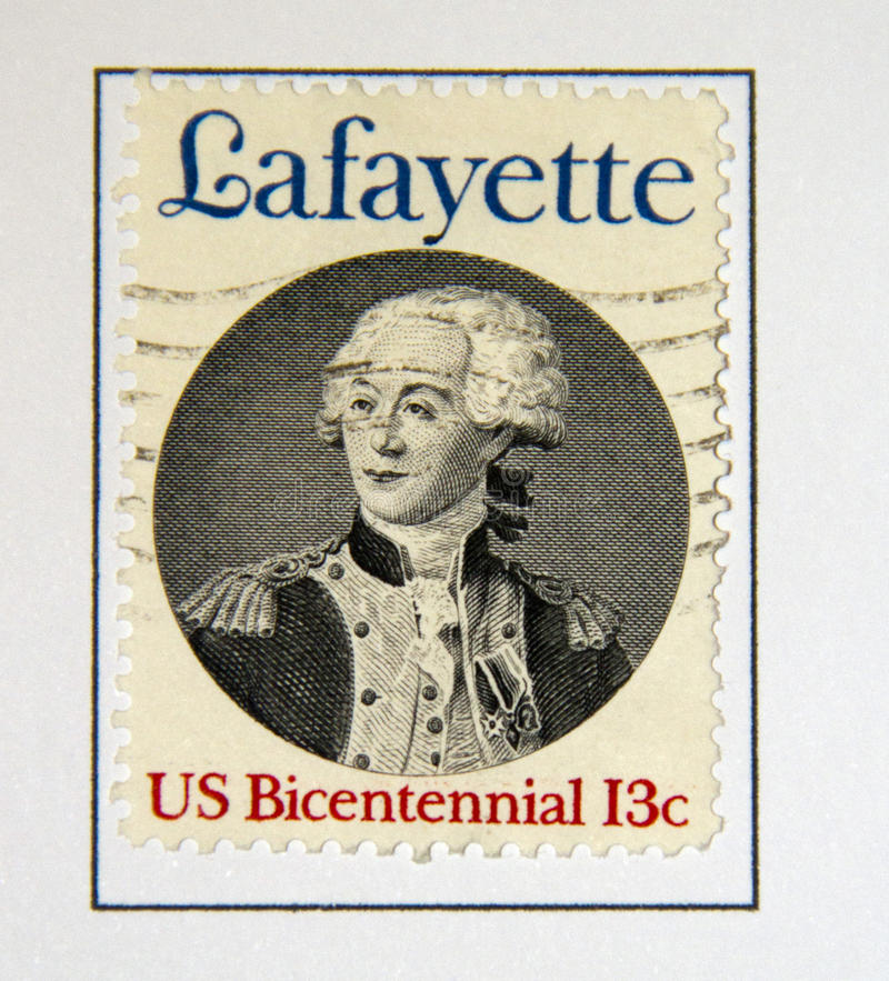 Lafayette lizenzfreie stockfotografie