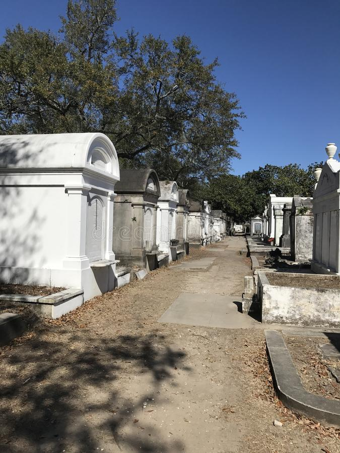 Lafayette Cemetery stock photo