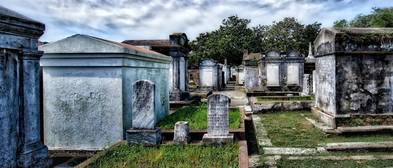 Lafayette Cemetery, NOLA royalty free stock photos