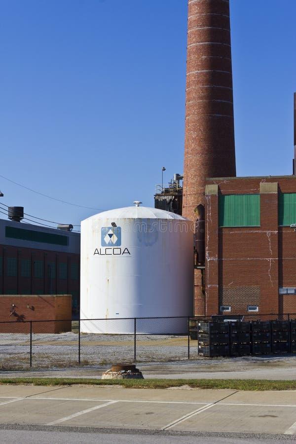 Lafayette, IN- circa im November 2015: Alcoa enthielt Schmieden und Verdrängungs-Plan lizenzfreie stockfotos