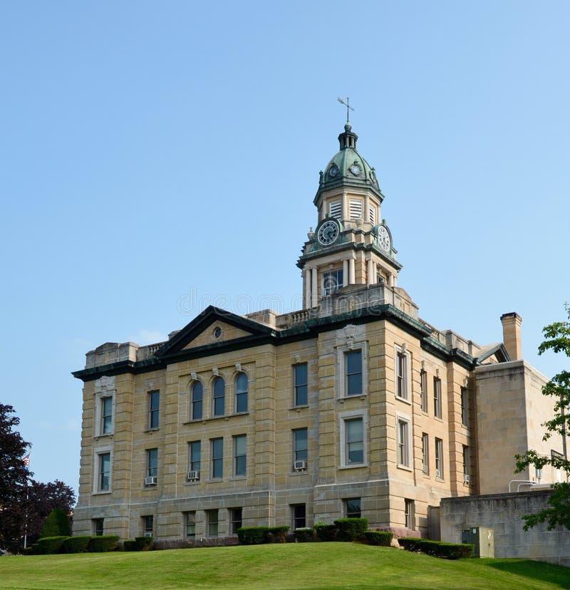 Lafayette okręgu administracyjnego gmach sądu zdjęcie royalty free