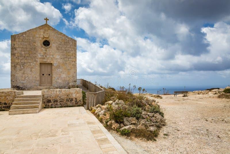 Laferla kors i Siggiewi område, Malta arkivbilder