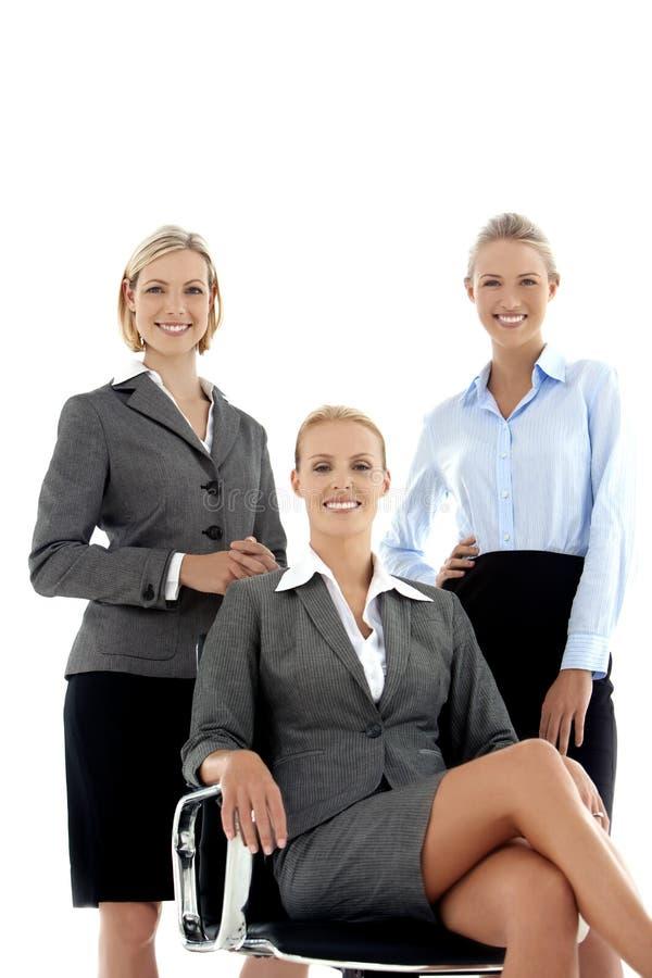 Lag av kvinnor för affärsledare arkivfoton