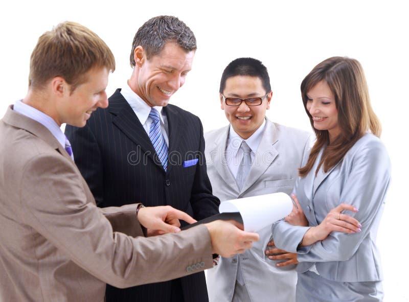 lag för affärsgrupp royaltyfri bild
