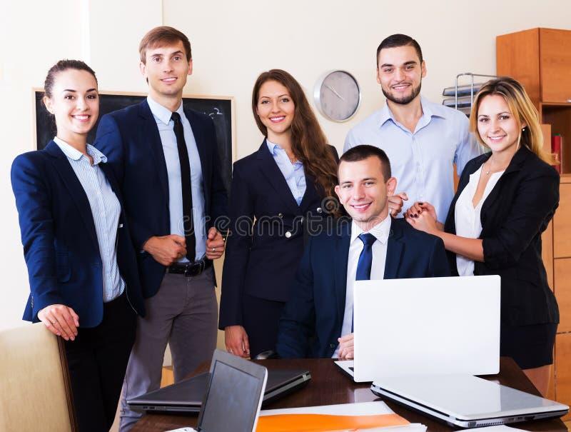 lag för affärskontor fotografering för bildbyråer