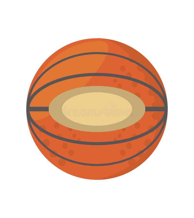 lag för skola för sport för tecknad filmbasketboll vektor illustrationer
