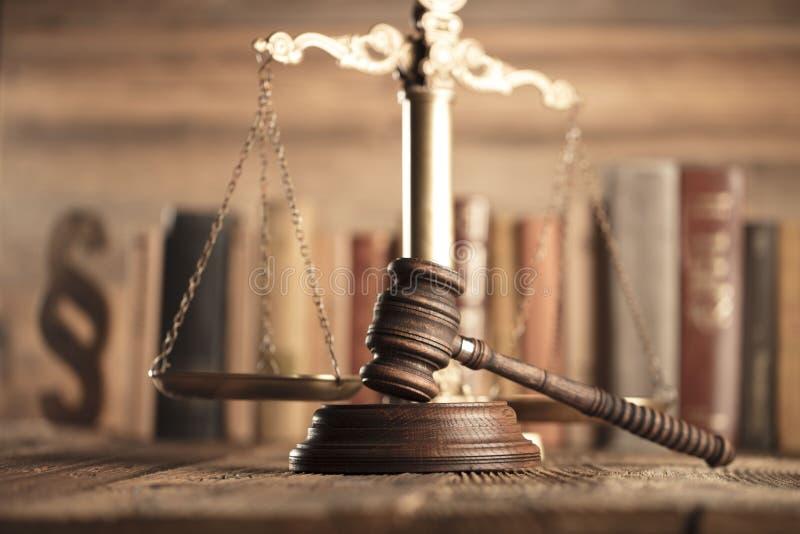 Lag- och rättvisatema arkivfoton