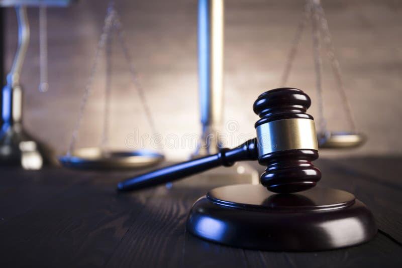 Lag- och rättvisatema royaltyfri fotografi