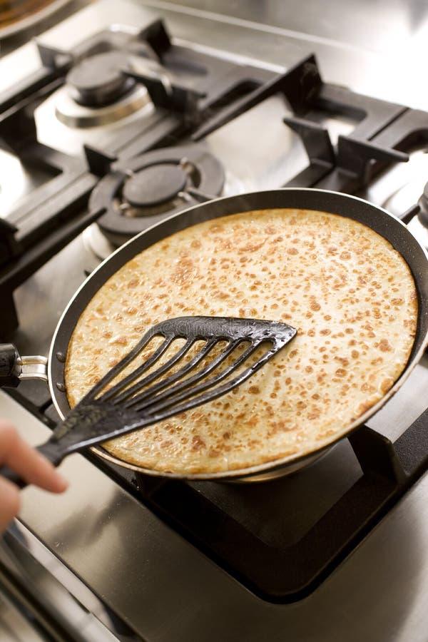 Laga mat för pannkakor royaltyfria bilder