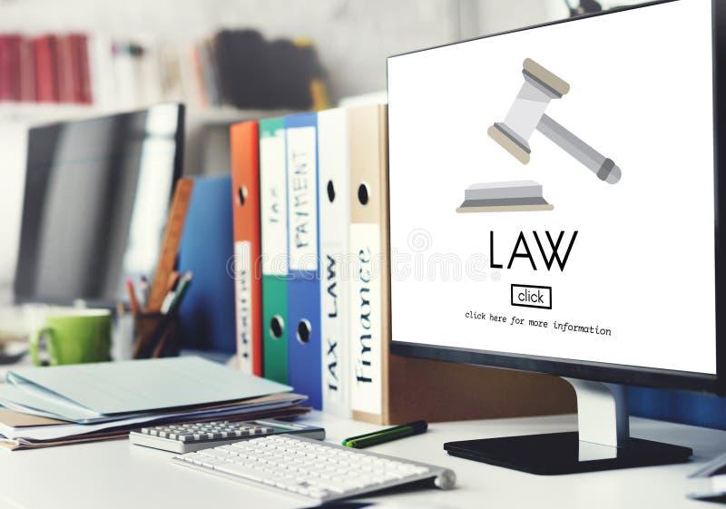 LagadvokatGovernance Legal Judge begrepp royaltyfri bild