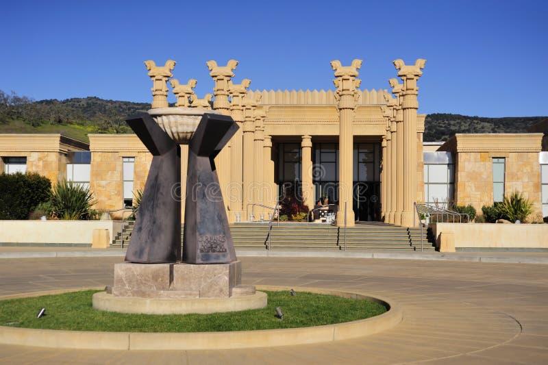 Lagar de California en el estilo persa imagen de archivo libre de regalías