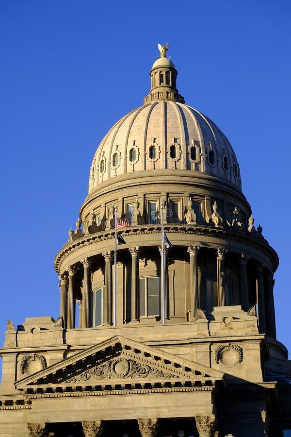 Lagar för kupol för byggnad för Idaho statKapitolium lagliga regerings- arkivbild