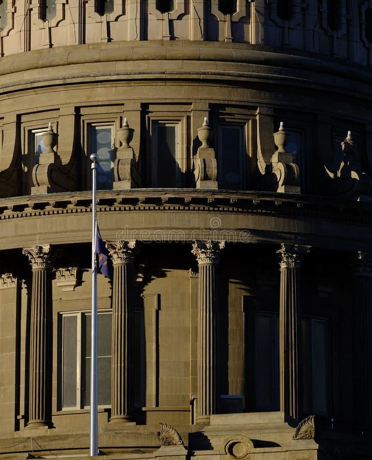 Lagar för kupol för byggnad för Idaho statKapitolium lagliga regerings- fotografering för bildbyråer