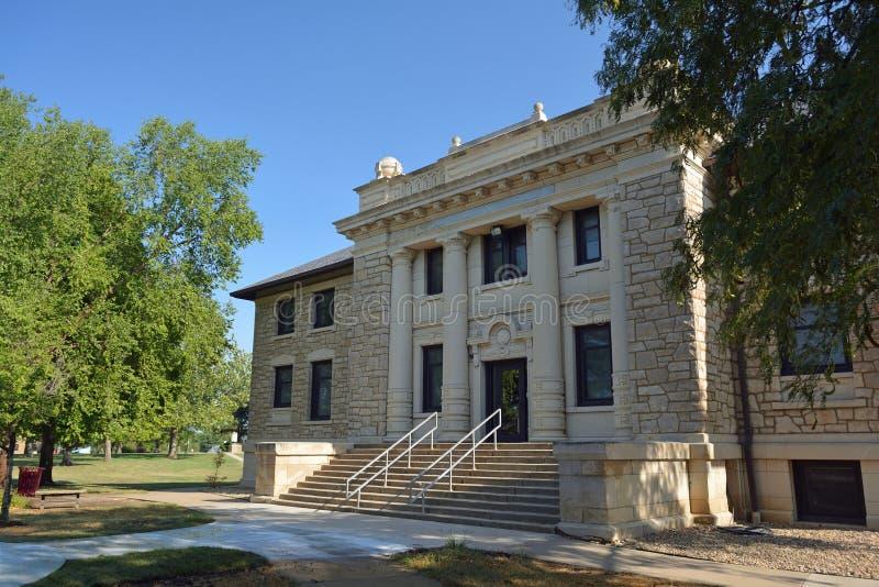 Lagarkivet på ett offentligt universitet som namnges för Icabod Washburn i Topeka, Kansas royaltyfria bilder