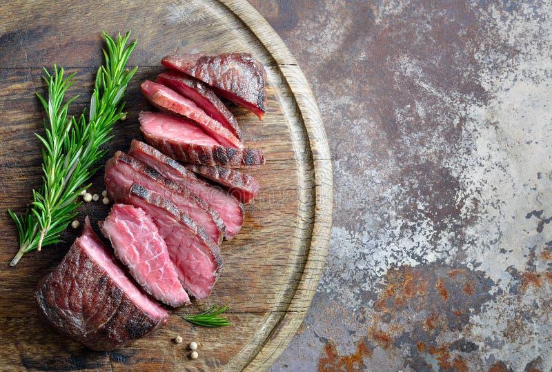 Lagat mat nötkött, bästa sikt arkivbild