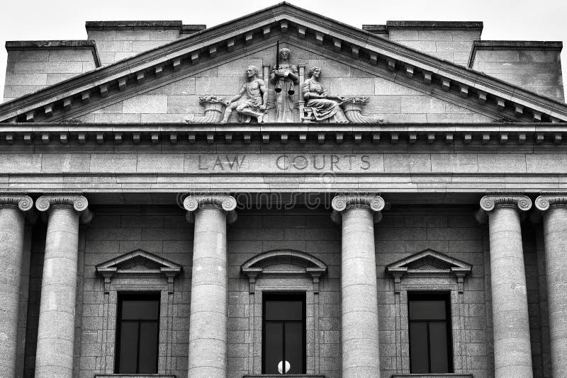 Lagdomstolar arkivfoton
