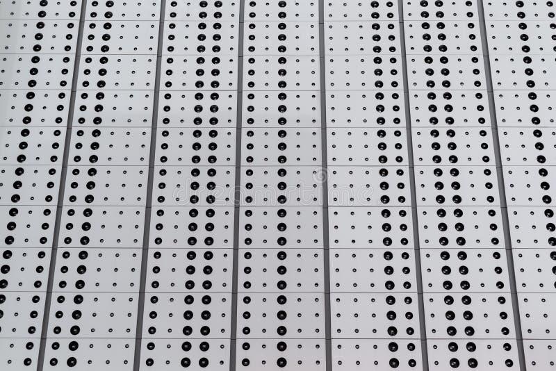Lage hoekmening van punten op een het patroontextuur van de metaaloppervlakte stock illustratie